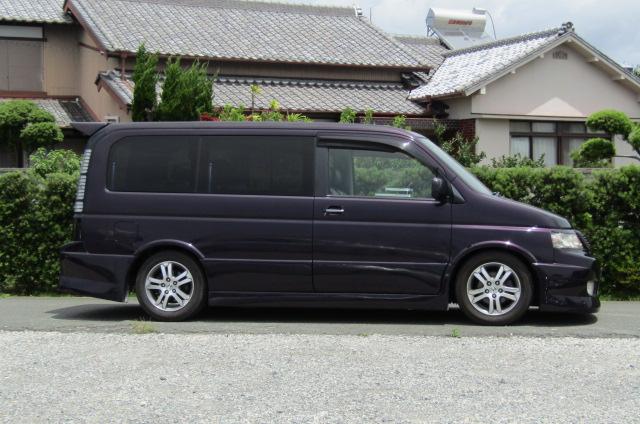 2004 Honda Stepwagon 2.4ivtec 24t RF7 Spada Auto 8 Seater MPV (H55), Side View, Drivers Side
