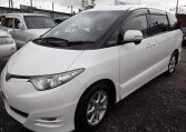2006 Toyota Estima 3.5 V6 Aeras GSR50 Auto 8 Seater MPV (C2), Front View, Passengers Side. Japanese imports for sale.