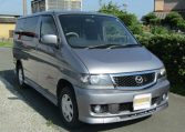 Mazda Bongo 2.0 Auto Aero City Runner Auto 8 Seater MPV (B29), Front View, Drivers Side. Japanese imports.