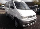 1996 Mazda Bongo 2.5 Autofreetop Friendee Auto 8 Seater MPV Camper (B84), Front View, Drivers Side. Japanese imports.