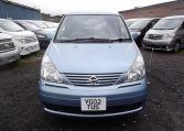 2002 Nissan Serena 2.0 Auto 7 Seater Mpv With Electric Disabled Chair And Rear Electric Ramp, Blue(A2), Front View. Jap imports.