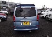 2002 Nissan Serena 2.0 Auto 7 Seater Mpv With Electric Disabled Chair And Rear Electric Ramp, Blue(A2), Rear View. Japanese import cars.