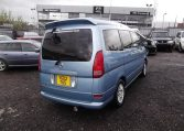 2002 Nissan Serena 2.0 Auto 7 Seater Mpv With Electric Disabled Chair And Rear Electric Ramp, Blue(A2), Rear View, Drivers Side. Jap imports UK.