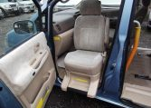 2002 Nissan Serena 2.0 Auto 7 Seater Mpv With Electric Disabled Chair And Rear Electric Ramp, Blue(A2), Disabilty Chair Internal View