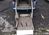 2002 Nissan Serena 2.0 Auto 7 Seater Mpv With Electric Disabled Chair And Rear Electric Ramp, Blue(A2), Interior View Rear Disabilty Ramp