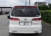 2006 Honda Elysion 2.4 G Aero Vtec Rr1 Auto 8 Seater MPV, White (H85), Rear View