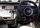 2006 Honda Stepwagon 2.4 Rg3 Auto 8 Seater MPV, Black (H83), Interior View Dashboard & Steering Wheel