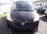 2006 Honda Stepwagon 2.4 Rg3 Auto 8 Seater MPV, Black (H83), Front View, Jap imports