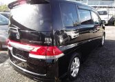 2006 Honda Stepwagon 2.4 Rg3 Auto 8 Seater MPV, Black (H83), Rear View, Drivers Side