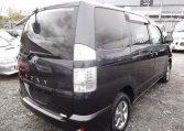 2006 Toyota Voxy 2.0 X Ltd Edn 4WD Auto 8 Seater MPV, Grey (V33), Rear View, Passengers Side. Jap imports UK.