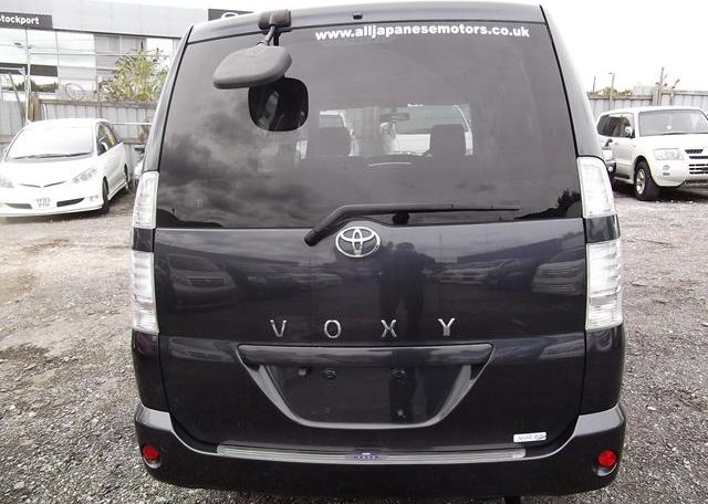 2006 Toyota Voxy 2.0 X Ltd Edn 4WD Auto 8 Seater MPV, Grey (V33), Rear View. Japanese import cars.
