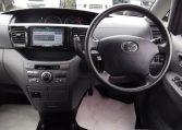 2006 Toyota Voxy 2.0 X Ltd Edn 4WD Auto 8 Seater MPV, Grey (V33), Interior View Dashboard & Steering Wheel. Import Japanese cars uk.