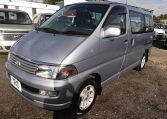 1997 Toyota Regius 3.0 TD Auto 8 Seater MPV (P42), Front View, Passengers Side. Japanese imports for sale.