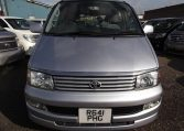 1997 Toyota Regius 3.0 TD Auto 8 Seater MPV (P42), Front View. Jap imports.