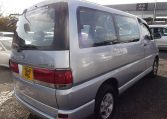 1997 Toyota Regius 3.0 TD Auto 8 Seater MPV (P42), Rear View, Drivers Side. Japanese import cars.