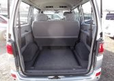 1997 Toyota Regius 3.0 TD Auto 8 Seater MPV (P42), Interior View Rear Seats Down For Storage. Japanese import cars for sale.
