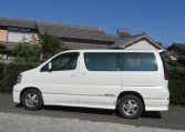 2000 Nissan Elgrand 3.5 Auto Highway Star 8 Seater MPV (E2), Side View, Passengers Side