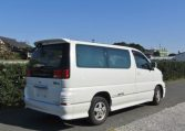 2000 Nissan Elgrand 3.5 Auto Highway Star 8 Seater MPV (E2), Rear View, Drivers Side. Jap imports UK.