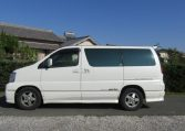 2000 Nissan Elgrand 3.5 Highway Star Auto Optional 4WD 8 Seater MPV (E91), Side View, Passengers Side
