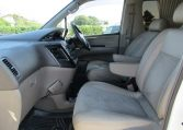 2000 Nissan Elgrand 3.5 Highway Star Auto Optional 4WD 8 Seater MPV (E91), Interior View Passengers Seat, Dashboard & Steering Wheel. Japanese import cars UK.