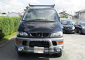 2002 Mitsubishi Delica 3.0 V6 Auto Chamonix Optional 4WD 8 Seater MPV For Sale (R55), Front View. Jap imports.