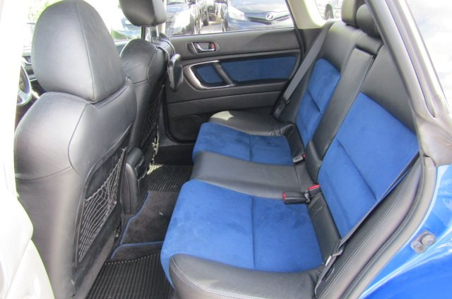 2004 Subaru Legacy 2.0 Gt Spec B Wr Ltd Twin Scroll Bp5 Turbo Auto Estate (S56), Interior View Rear Seats. Japanese import cars uk.