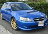 2004 Subaru Legacy 2.0 Gt Spec B Wr Ltd Twin Scroll Bp5 Turbo Auto Estate (S56), Front View, Drivers Side. Japanese imports.