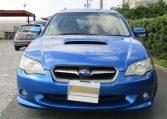 2004 Subaru Legacy 2.0 Gt Spec B Wr Ltd Twin Scroll Bp5 Turbo Auto Estate (S56), Front View. Jap imports.