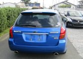 2004 Subaru Legacy 2.0 Gt Spec B Wr Ltd Twin Scroll Bp5 Turbo Auto Estate (S56), Rear View. Japanese import cars.