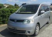 2005 NISSAN SERENA 2.0 Auto Disabled Access Electric Wheel Chair 7 Seater MPV (A66), Front View, Passengers Side. Japanese imports for sale.