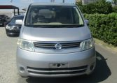 2005 NISSAN SERENA 2.0 Auto Disabled Access Electric Wheel Chair 7 Seater MPV (A66), Front View. Jap imports.
