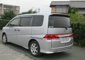 2006 Honda Stepwagon 2.4 Auto Rg3 8 Seater MPV (H68), Rear View, Passengers Side