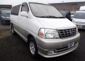 2000 Toyota Grand Hiace 3.4 V6 Auto 4wd 8 Seater MPV (P31) For Sale (Ref: Z40), Front View, Drivers Side