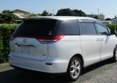 2006 Toyota Estima 2.4 Aeras S Package 7 Seater MPV (C28), Rear View, Drivers Side. Japanese import cars.