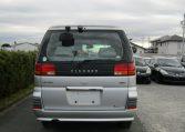 1998 Nissan Elgrand 3.3 E50 Optional 4WD Auto 8 Seater MPV (E87), Rear View. Japanese import cars.
