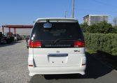 2001 Nissan Elgrand 3.5 Highway Star Auto 8 Seater MPV (E96), Rear View. Nissan Elgrand importers.