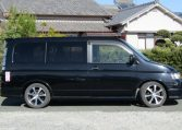 2003 Honda Stepwagon 2.4 Spada 24t Auto 8 Seater MPV (H74), Side View, Drivers Side