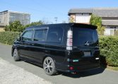 2003 Honda Stepwagon 2.4 Spada 24t Auto 8 Seater MPV (H74), Rear View, Passengers Side