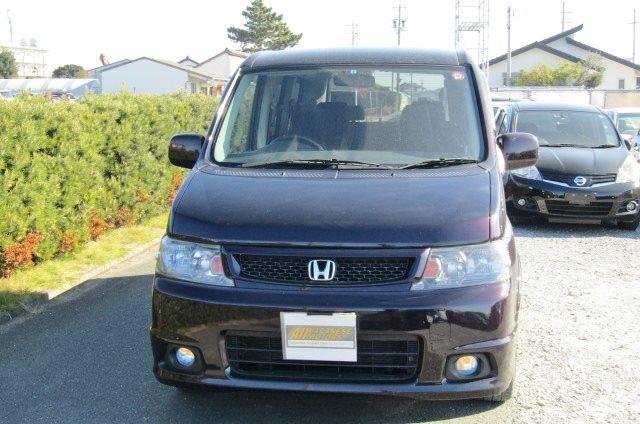 2004 Honda Stepwagon 2.0 Auto Spada 4WD 8 Seater MPV (H32), Front View, Jap imports