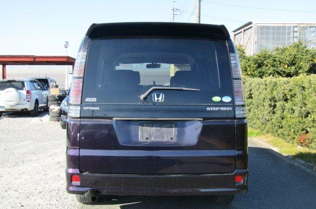 2004 Honda Stepwagon 2.0 Auto Spada 4WD 8 Seater MPV (H32), Rear View