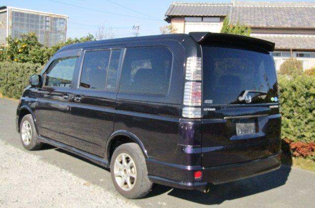 2004 Honda Stepwagon 2.0 Auto Spada 4WD 8 Seater MPV (H32), Rear View, Passengers Side