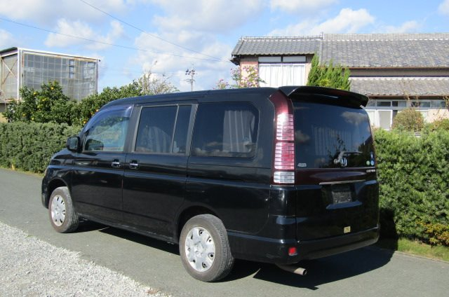2005 Honda Stepwagon 2.0 4WD Auto 8 Seater MPV (H22), Rear View, Passengers Side