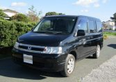 2005 Honda Stepwagon 2.0 4WD Auto 8 Seater MPV (H22), Front View, Passengers Side, Japanese import cars.