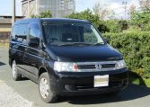 2005 Honda Stepwagon 2.0 4WD Auto 8 Seater MPV (H22), Front View, Drivers Side, Japanese imports.