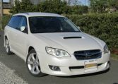 2007 Subaru Legacy 2.0 Gt Si Drive B Spec 4WD Faceligt Auto Estate (S63), Front View, Drivers Side. Japanese imports.