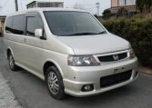 2004 Honda Stepwagon 2.0 4wd Spada Auto 8 Seater MPV (H5), Front View, Drivers Side. Japanese imports.