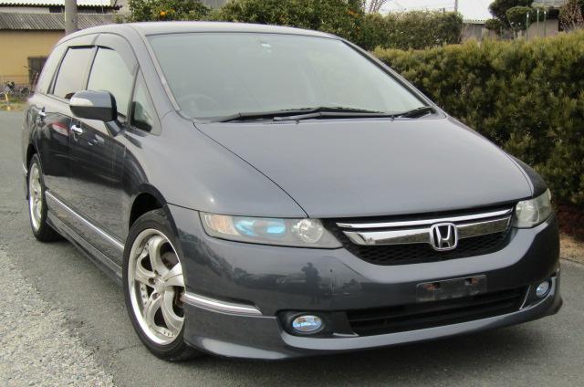 2006 Honda Odyssey 2.4 Aero Auto 7 Seater MPV (H50), Front View, Drivers Side. Japanese imports.