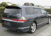 2006 Honda Odyssey 2.4 Aero Auto 7 Seater MPV (H50), Rear View, Drivers Side. Japanese import cars.