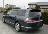 2006 Honda Odyssey 2.4 Aero Auto 7 Seater MPV (H50), Rear View, Passengers Side. Jap imports UK.