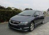 2006 Honda Odyssey 2.4 Aero Auto 7 Seater MPV (H50), Front View, Passengers Side. Japanese imports for sale.